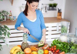 تغذیه در ماه هشتم بارداری