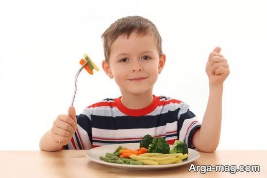 برنامه غذایی مناسب کودک 5 ساله