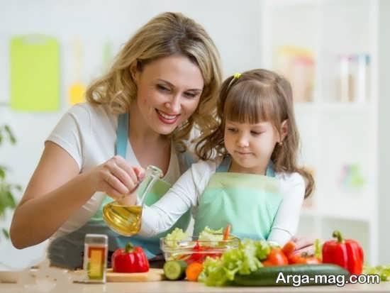 برنامه غذایی برای کودک 5 ساله