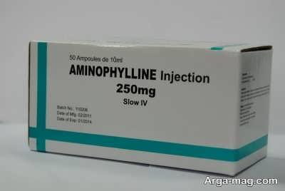 اطلاعات دارویی آمینوفیلین