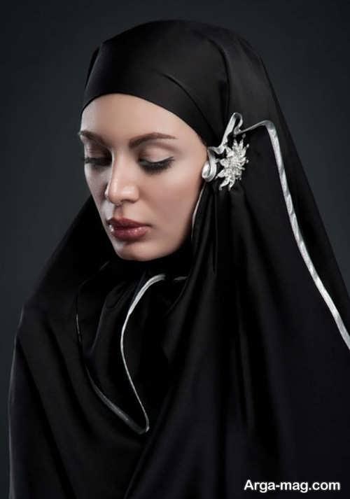 آموزش بستن شال ساده به سبک عربی