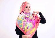 روش بستن شال عربی