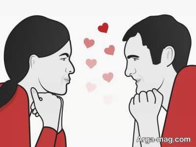 متن جالب و زیبا عاشقانه