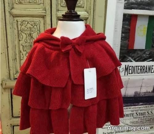 مدل شنل قرمز بچه گانه