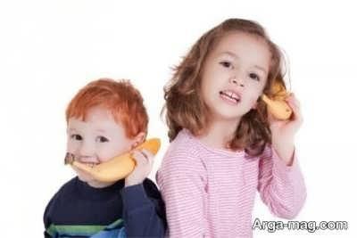 زمان به حرف آمدن کودک