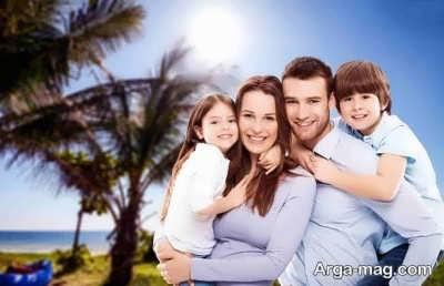 متن زیبا در مورد خانواده با مفهوم دلنشین