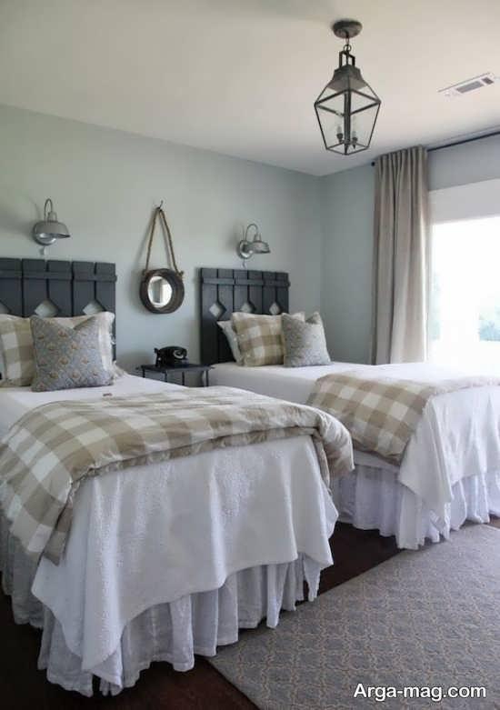 اتاق خواب مدرن دو تخته
