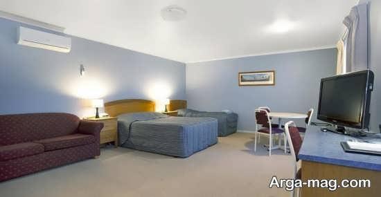 اتاق خواب جذاب دو تخته