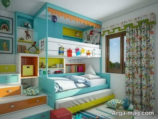 اتاق خواب زیبا و جدید دو تخته