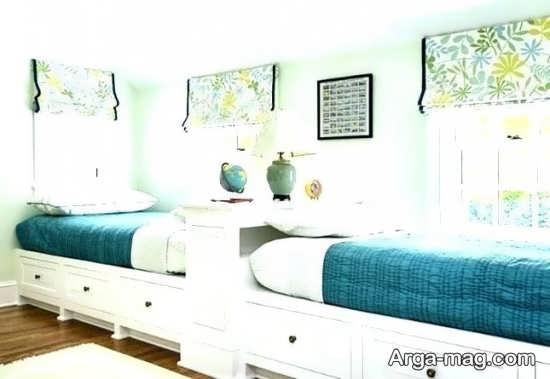 اتاق خواب پسرانه دو تخته
