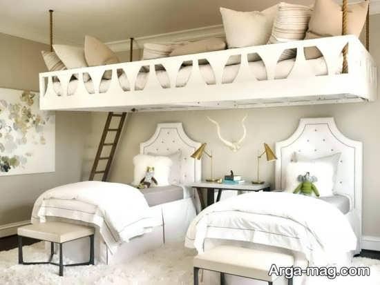 اتاق خواب کودک دو تخته