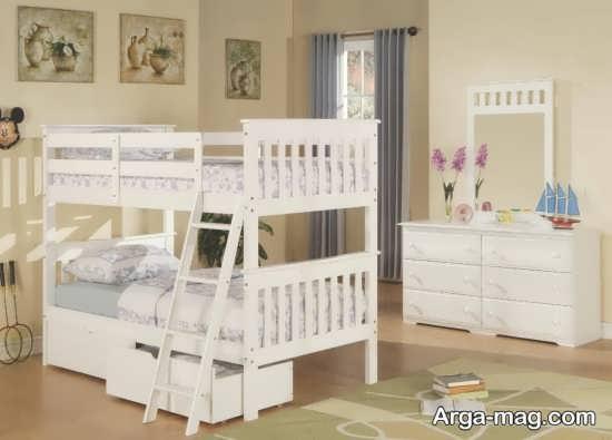 اتاق خواب با دو تخت