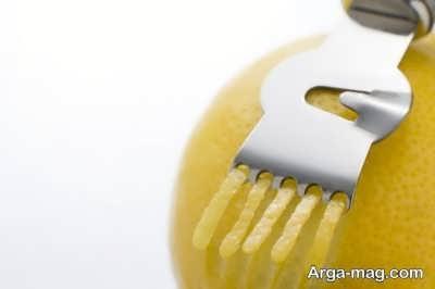 نحوه استفاده از پوست لیمو ترش