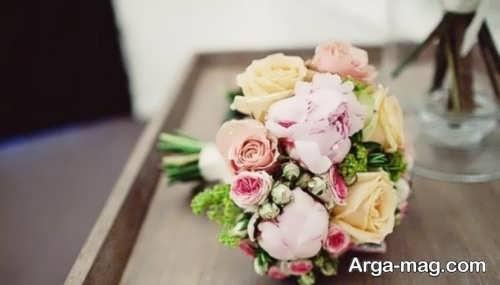 مدل دسته گل زیبا و جدید برای عروس