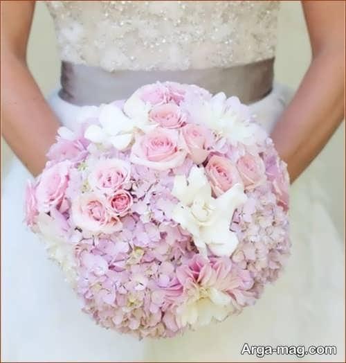 مدل دسته گل گرد برای عروس