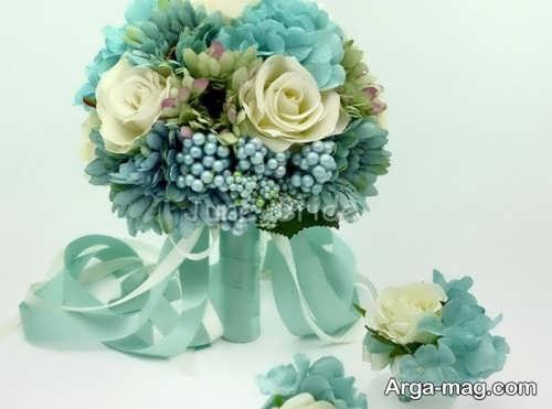دسته گل زیبا و جذاب عروس