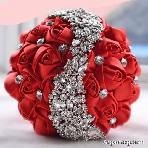 دسته گل زیبا و شیک برای عروس