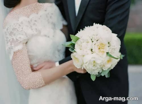 مدل دسته گل شیک برای عروس