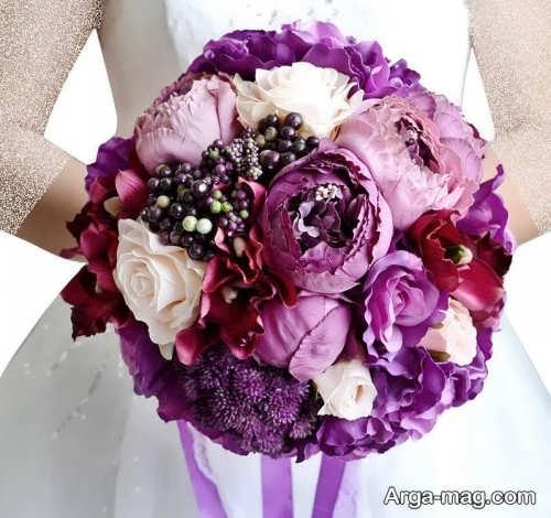 دسته بنفش عروس