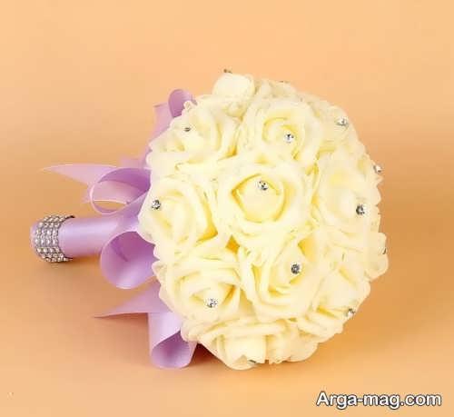 مدل دسته گل گرد عروس