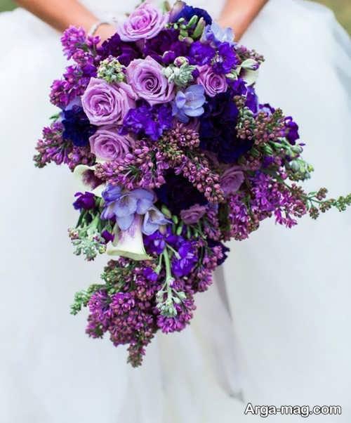 دسته گل زیبا عروس
