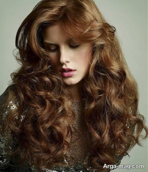 مدل رنگ موی کاپوچینویی