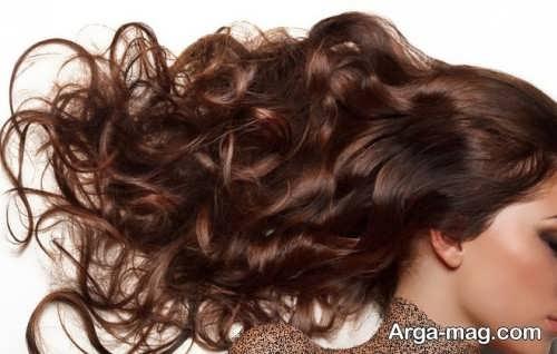 رنگ موی زنانه تنباکویی