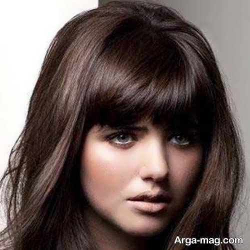 رنگ موی دخترانه تنباکویی