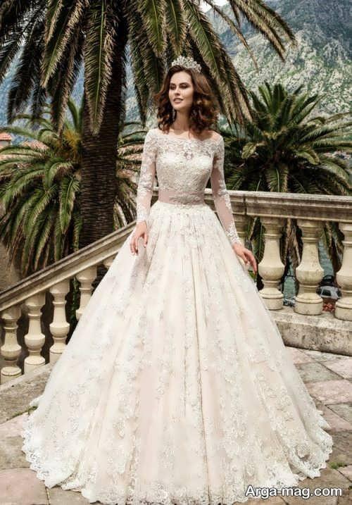 مدل لباس عروس شیک و کلاسیک