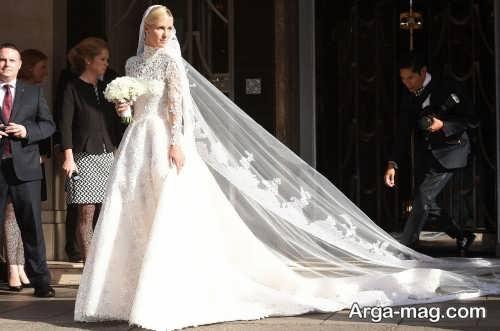 مدل لباس عروس کلاسیک