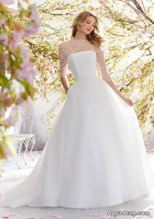لباس عروس ساده و زیبا