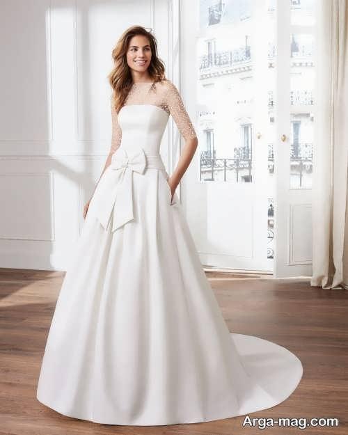 لباس عروس ساده و کلاسیک