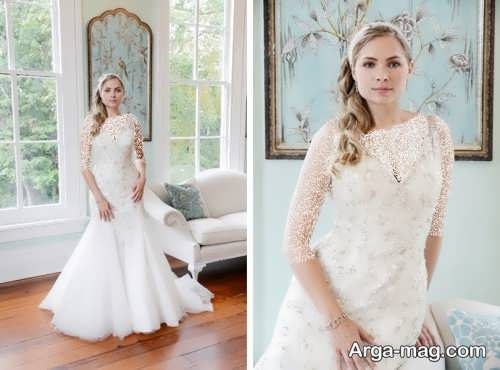 مدل لباس عروس زیبا و باکلاس