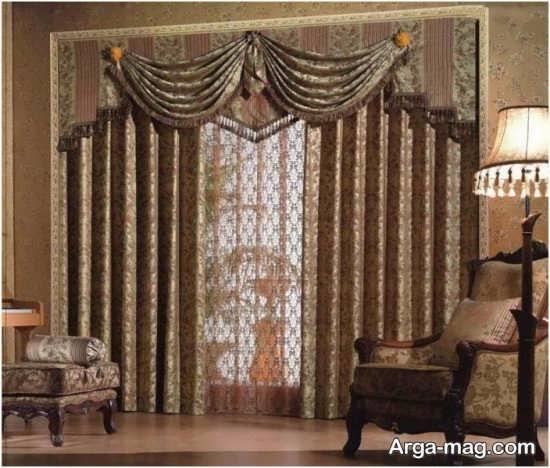 دیزاین پرده کلاسیک
