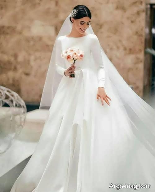 مدل زیبا پیراهن عروسی کلاسیک