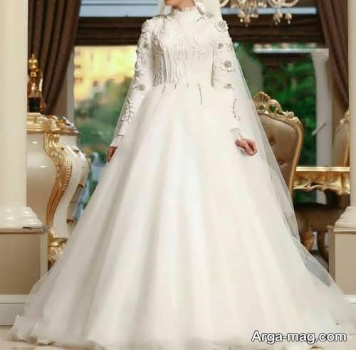 مدل جدید پیراهن عروسی کلاسیک