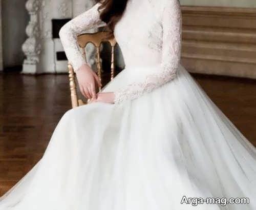تصاویری از پیراهن عروسی کلاسیک