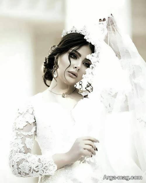 مدل پیراهن عروسی کلاسیک گیپور
