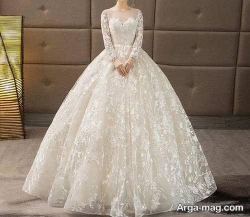 انواع پیراهن عروسی کلاسیک