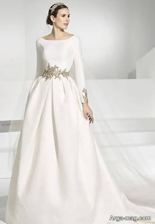مدل شیک پیراهن عروسی کلاسیک