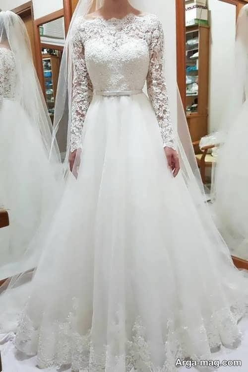 مدل لباس عروس کلاسیک زیبا