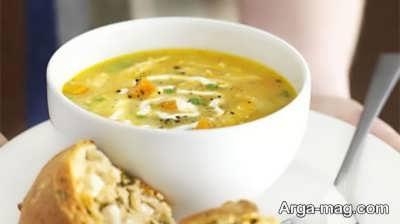 دستور تهیه سوپ مرمر