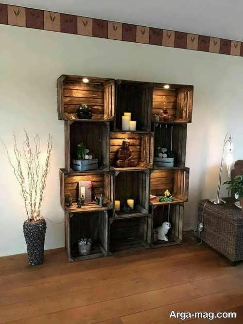 خلاقیت با جعبه میوه برای ساخت وسایل کاربردی و تزئینی در منزل