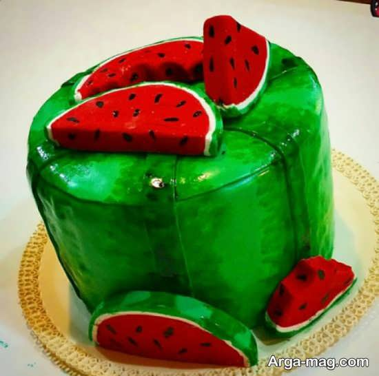 مدل های خاص برای تزیین کیک شب یلدا