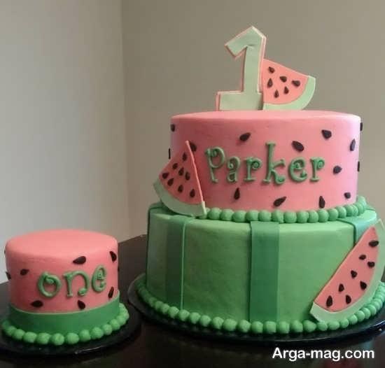 مدل های زیبا برای تزیین کیک شب یلدا