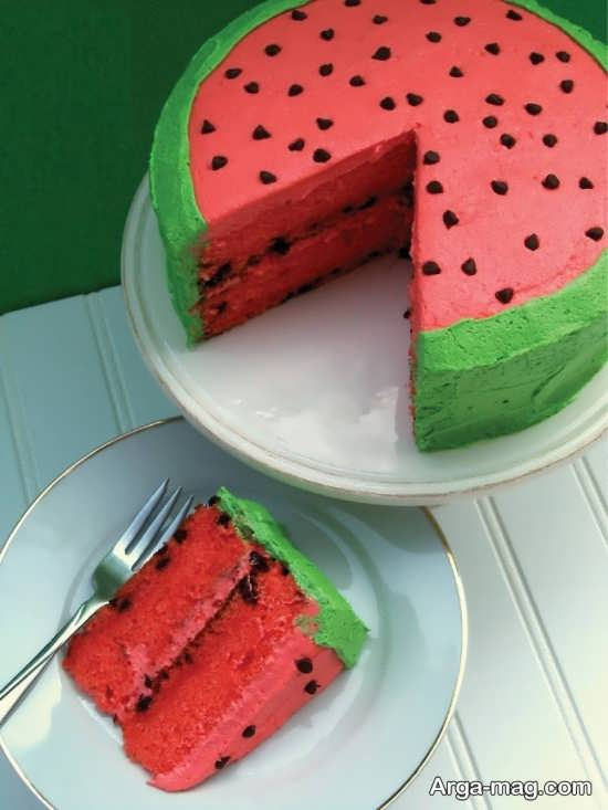 طرح های خاص برای تزیین کیک شب یلدا