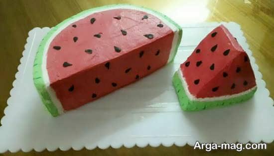طرح های متفاوت برای تزیین کیک شب یلدا