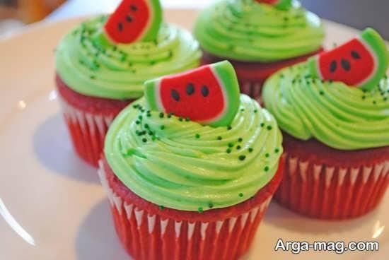 تزیین کیک برای شب یلدا