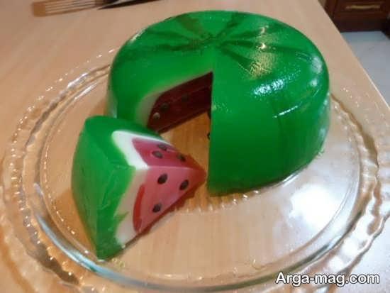 تزیین خاص کیک برای شب یلدا