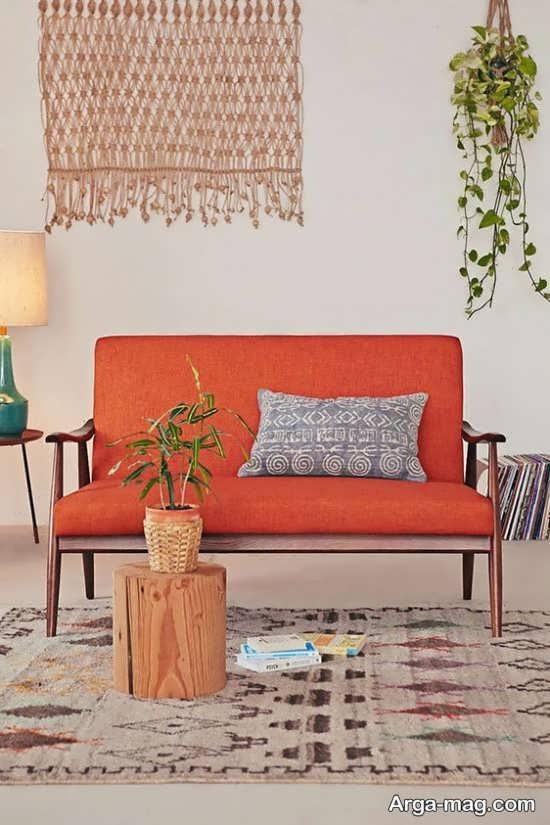طراحی داخلی با رنگ پاییزی